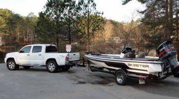 bass boat weight