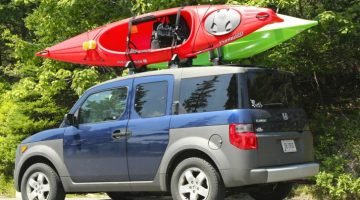 how to transport a kayak without roof rack
