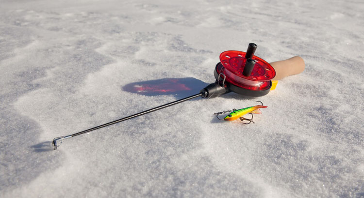 why are ice fishing rods so small