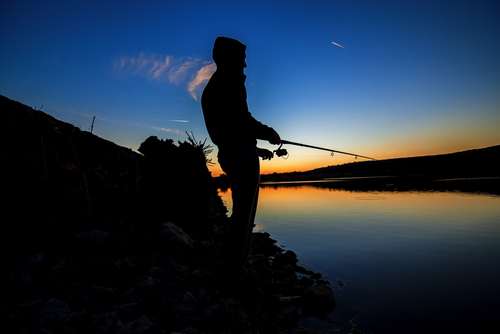 best place to fish for bass at night